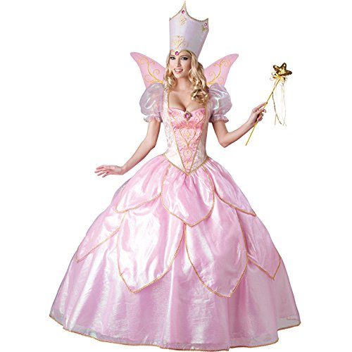 InCharacter Costumes Women's Fairy Godmother Costume, Pink, Small]()