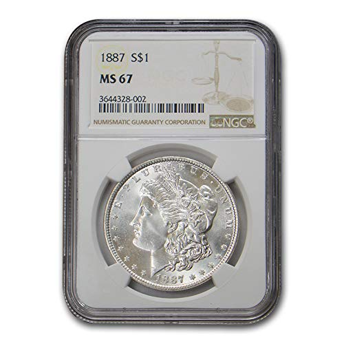 1887 Morgan Dollar MS-67 NGC $1 MS-67 NGC
