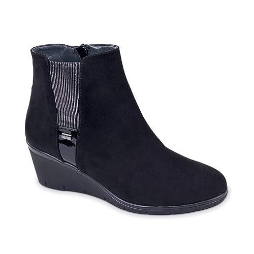 VALLEVERDE Donna Tronchetto Nero 45665 Scarpe in camoscio Autunno Inverno  2019 EU 36  Amazon.it  Scarpe e borse 51289300f31