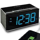 Best Clock Radio With Presets - iTOMA Radio Alarm Clock, Bedside FM Radio, Bluetooth Review
