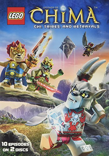 DVD : Lego: Legends of Chima Season One Part Two (2 Disc)