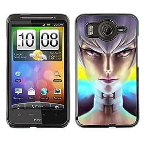 Ni?a mala OYAYO HTC G10 //Dise?os frescos para todos los gustos! Top muesca protección para su teléfono inteligente!