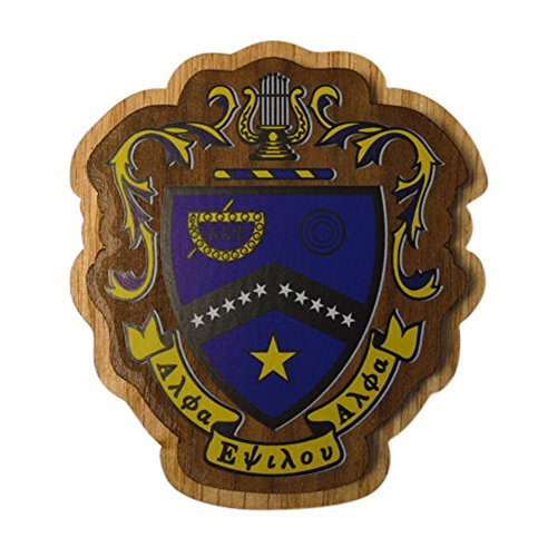 (Kappa Kappa Psi Wood Crest Made of Wood for Paddle Mascot Board KKPsi (3.5 Inches Tall Double Raised))