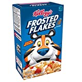 Kellogg's Breakfast Cereal, Frosted Flakes, Fat-Free, Single Serve, 1.2 oz Box(Pack of 70)