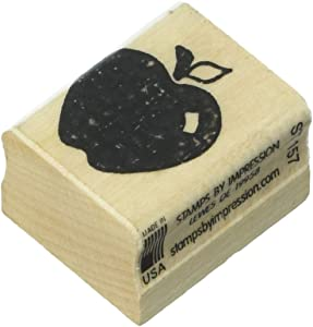 Stamps by Impression Apple Rubber Stamp