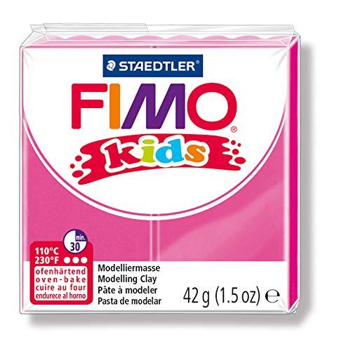 STAEDTLER Fimo Kids Oven-Bake Modeling Clay, 1.5 oz, Rose