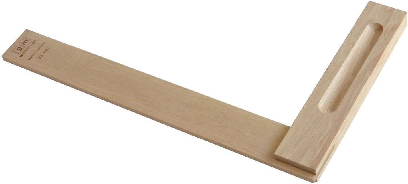 Winkel GM Schreinerwinkel aus Holz GM Tischlerwinkel aus Wei/ßbuche 350mm Qualit/ät