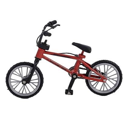 Alomejor Mini Dedo Bicicleta de Juguete, Mini monopatín Die ...