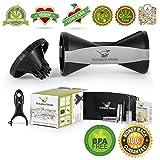 4-Blade Vegetable Spiralizer - Premium Set for Paleo Healthy Eating + 4 Recipe eBooks - Zucchini Spaguetti Noodle Maker