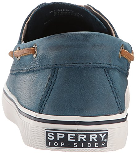 Sperry Top-Sider Womens Bahama Weathered and Worn Boat Shoe Petrol a287XbE