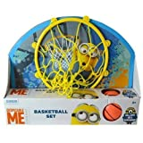 "Despicable Me Minion Made 13.5 X 10"" Basketball Set ""Ball, Hoop, Net & Door Hanger"""