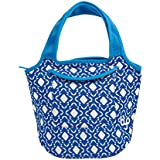 BYO by BUILT NY Zesty Neoprene Lunch Tote, Geo Moroccan