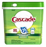 Cascade Dishwasher Detergent 6X Power Action Pacs Fresh Scent, 85 Count- 3 Each