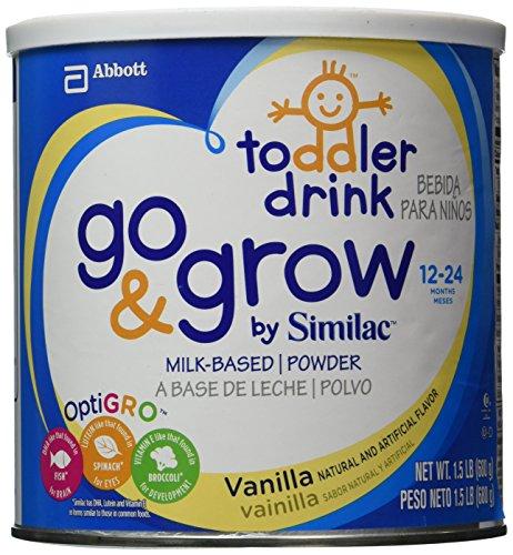 Abbott Similac Go & Grow Vanilla, Milk Based Toddler Drin...