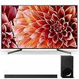Sony XBR55X900F 55-Inch 4K Ultra HD Smart LED TV (2018 Model) with X9000F 2.1ch Soundbar with Dolby Atmos