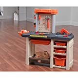 Homes Depot Best Deals - The Home Depot Handyman Workbench Allows Boys and Girls to Learn and Develop Motor Skills As They Use Their Tool Workshop to Pretend to Fix Up the House. This Handy Work Playset Features a Toy Drill, Saw and Hammer for Your Children to Play Shop.