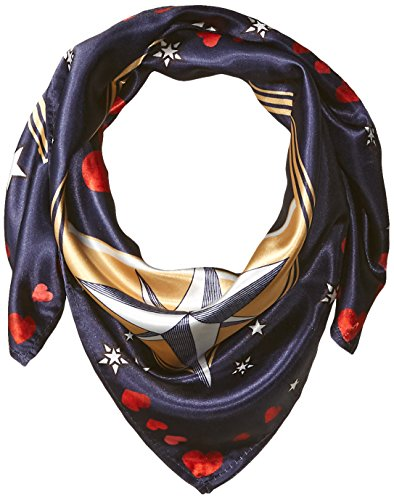 Orchid Row Women's Interstellar Love Silk Effect Fashion bandanna Scarf