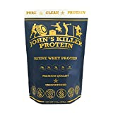Cheap NEW – John's Killer Protein – Grass fed native protein without any sweeteners or artificial flavors. Non-GMO, gluten & soy free, lecithin free, rBST/rBGH free. Unflavored & unsweetened pure protein.