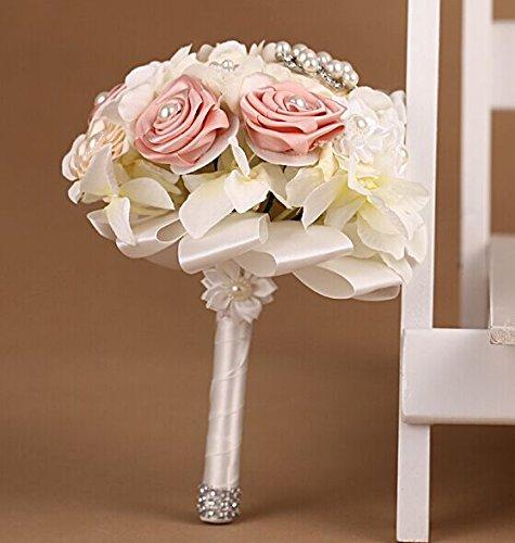 Advanced Customization High Quality Romantic Handmade Bride Holding Flower, Western Style Wedding Bouquet