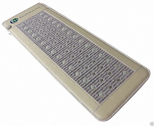 HealthyLine Far Infrared Heating Mat|Natural Jade, Amethyst & Tourmaline Healing Pad 72'' x 24'' | Heated Negative Ions (Full Length & Firm) | Mind, Body Detox Promotes Pain Relief |FDA Registered by HealthyLine