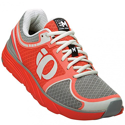 Mandarin Foam (Pearl Izumi Women's W EM Road M 3 LC/MR Running Shoe, Living Coral/Mandarin Red, 10.5 B US)