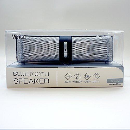Vivitar Bar Bluetooth Speaker (White)