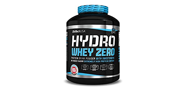 Proteína HYDRO WHEY ZERO 1,816kg - chocolate: Amazon.es ...