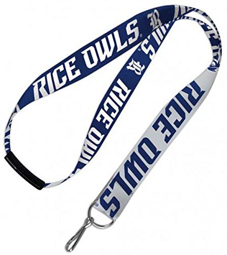 WinCraft Rice University Owls Lanyard Key Chain with Plastic Safety Breakaway ()