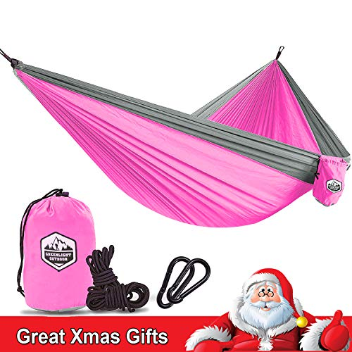 Kids Hammock for Camping The Kid Child Toddler or Gear Sling Hammocks - Perfect Small Size for Indoor Outdoor or Backyard - Portable Parachute Nylon - 8 Colors! ()