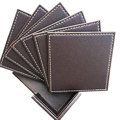 Coasters For Drinks Leather