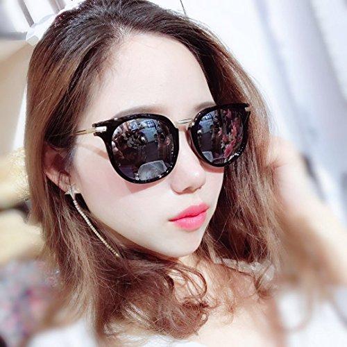 Zhangxin de de conducción de Gafas sol Gafas de de sol Gafas viaje sol viaje Gafas de polarizadas ocasionales negro Silver de sol Polvo rrH0SZ7