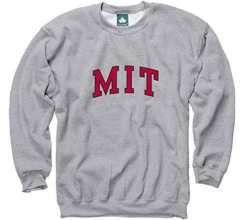 Ivysport MIT Crewneck Sweatshirt, Heavyweight Premium Cotton, Classic Arch Logo