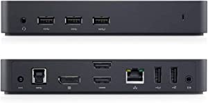Dell USB 3.0 Ultra HD Triple Video Docking Station EU Version, 452-BBOT, 452-BBOP, N276T, 452-BBOU (Docking Station EU Version)