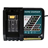 FLAGPOWER Replacement Power Tools Lithium-Ion Battery Charger 14.4V-18V Iutput 120V for Makita BL1830 BL1815 BL1840