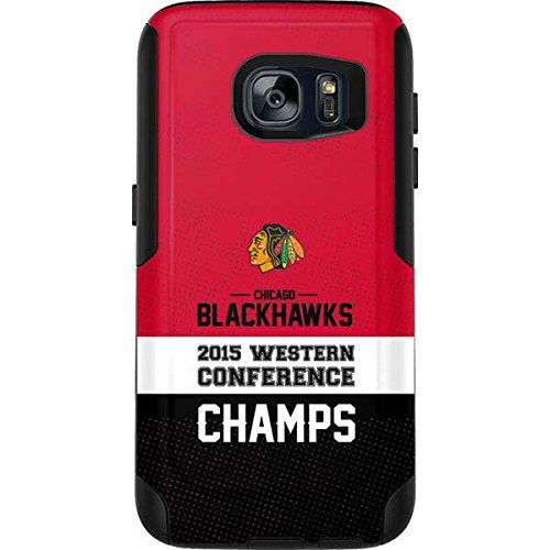 NHL Chicago Blackhawks OtterBox Commuter Galaxy S7 Skin - Chicago Blackhawks 2015 Western Conference Champs by Skinit