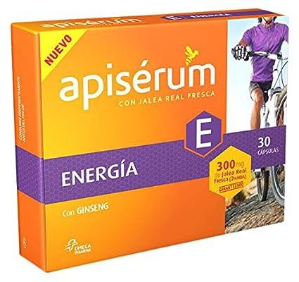 Apiserum Energía Ginseng 20 viales