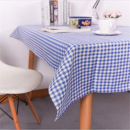 - SSHHJ Nappes Tissu Art Coton et chanvre Vent Bureau Coussin Table Nappe rectangulaire G 90x90cm