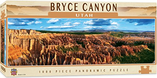 (MasterPieces National Parks Panoramic Jigsaw Puzzle, Bryce Canyon, Utah, Photographs by James Blakeway, 1000 Pieces)