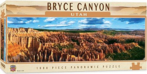 Bryce Canyon Amphitheater (MasterPieces American Vistas Panoramic Bryce Canyon Jigsaw Puzzle, 1000-Piece)