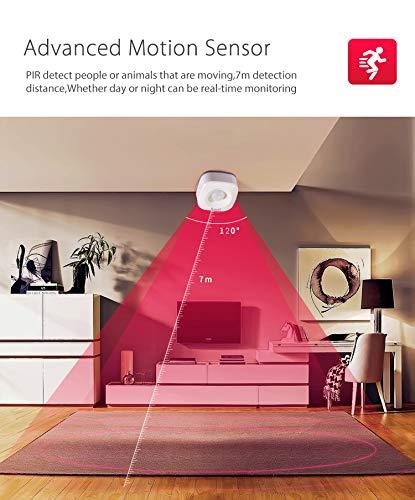 Alarma de Seguridad para el hogar de la Mujer, Inteligente, con aplicación SmartLife, Sensor de Movimiento, Sensor de Seguridad: Amazon.es: Bricolaje y ...