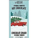 Gourmet du Village Hot Chocolate Mini, Double Truffle Retro Red Truck, 35g