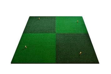 Zhdc Tapis De Pratique De Golf Tapis De Golf Herbe Bicolore