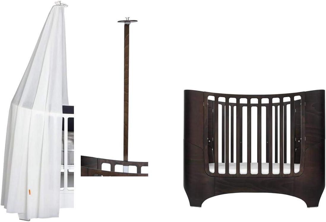 Leander Cuna para bebé y niño – madera de nogal + dosel en ...