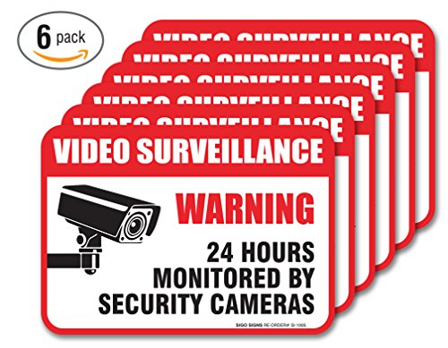 6-pack-video-surveillance-sign-decal-self-adhesive-2-x-3-4-mil-vinyl-decal-indoor-outdoor-use-uv-protected-waterproof-sleek-rounded-corners
