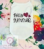 Hello Summer Dog Shirt