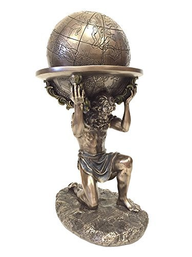 n Atlas Carrying The World Statue ()