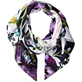 Ted Baker London Women's Entangled Enchantment Skinny Scarf, Navy, One Size