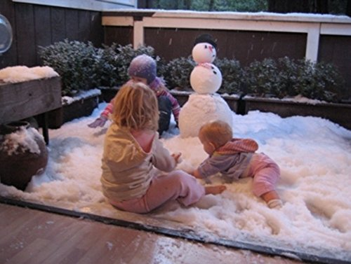snowonder instant snow fake artificial snow  also great for making cloud slime