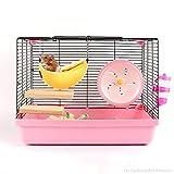 KUDES Banana Hamster Bed House Hammock Small