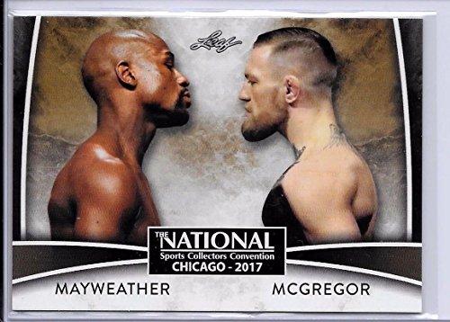 Leaf FLOYD MAYWEATHER JR. VS CONOR McGREGOR 2017 EXCLUSIVE VIP CARD #VIP-02!! (Boxing Floyd Mayweather Jr Vs Conor Mcgregor)